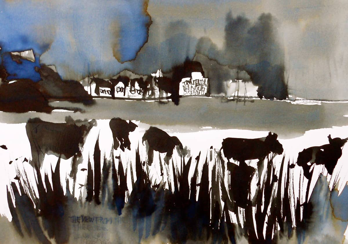 Crinan | Scotland - 21 x 29 cm ink on paper, 2011